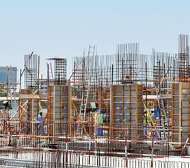 Encofrado ligero para la construcción de pilares cuadrados y rectangulares