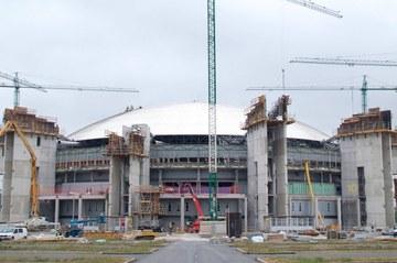 Remodelacion del espacio multiusos Buesa Arena, Vitoria, España