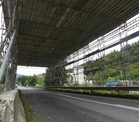 Protección Carretera Asteasu, Guipúzcoa, España