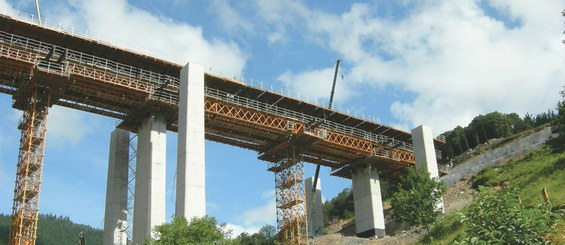 Viaducto de Gabaundi, Arrasate/Mondragón, España