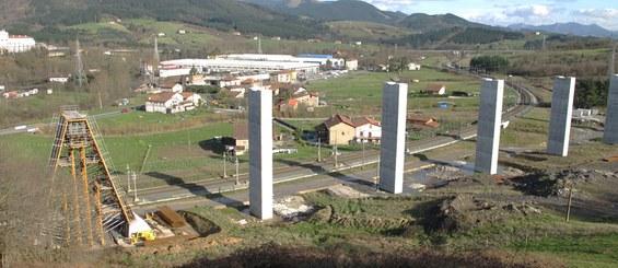 Viaducto San Antonio, Amorebieta (LAV Vitoria–Bilbao-San Sebastian), España