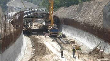 Túnel Variante EN-101 Ponte da Barca - Arcos de Valdévez, Portugal