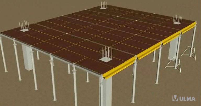 Encofrado de losa modular de aluminio CC-4